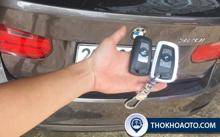 Làm chìa khóa ô tô BMW chuyên nghiệp