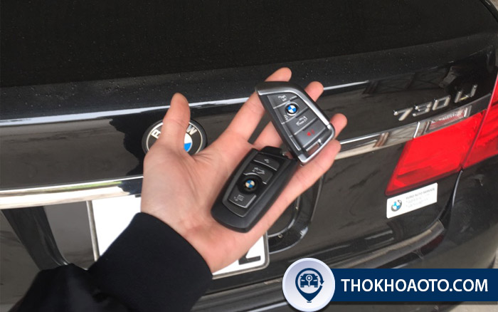 Dùng chìa khóa BMW cần lưu ý gì?