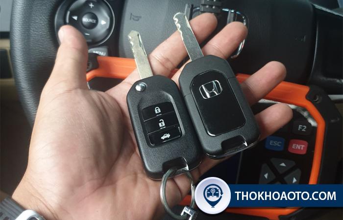 thay pin chìa khóa Honda City