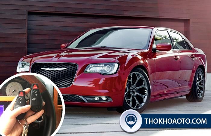 Làm chìa khóa xe Chrysler - Thợ Khóa Ô Tô