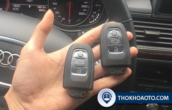 Làm chìa khóa xe Audi - Thợ Khóa Ô Tô