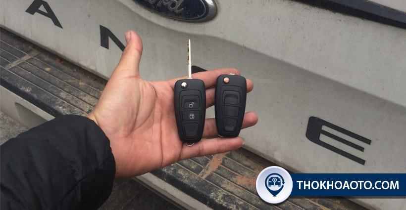 Chìa khóa xe Ford Ranger