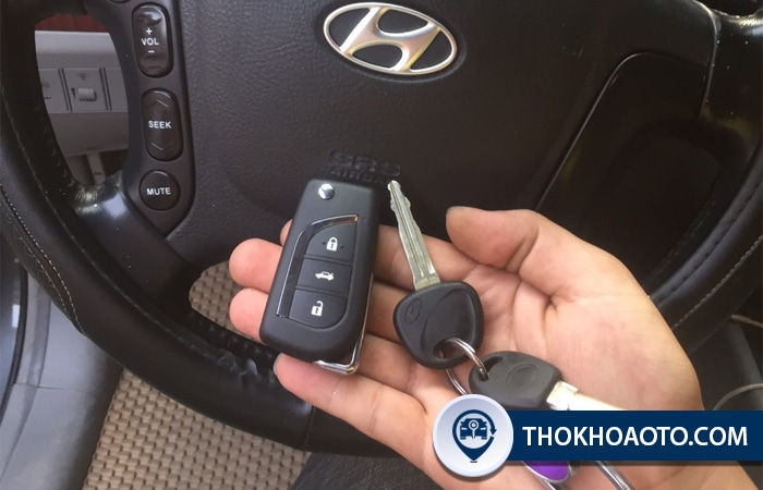 Độ chìa gập xe Hyundai