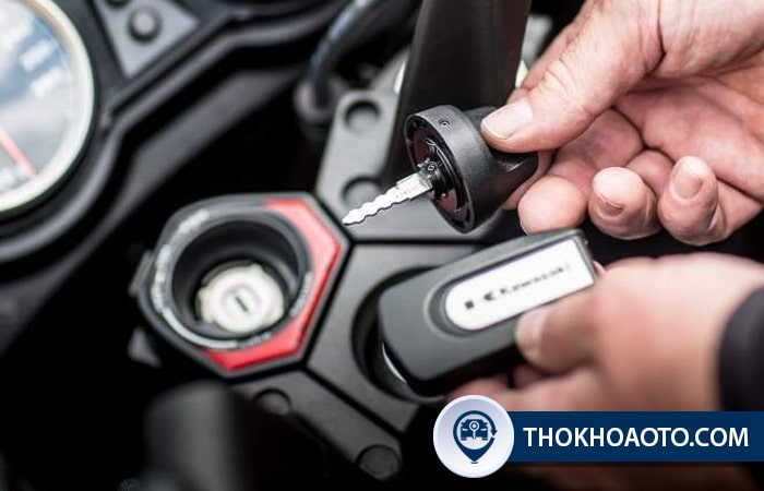 Chìa khóa xe Kawasaki