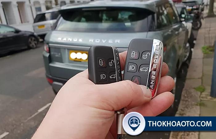 Làm chìa khóa xe Land Rover - Thợ Khóa Ô Tô