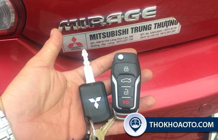 Làm chìa khóa xe Mitsubishi - Thợ Khóa Ô Tô