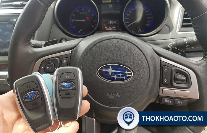 Làm chìa khóa xe Subaru