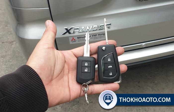 Đánh chìa khóa ô tô Mitsubishi Xpander