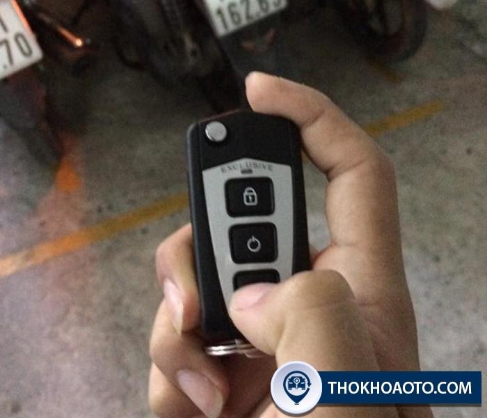 Hình 24: Mẫu chìa gập 3 nút được khách hàng sử dụng nhiều