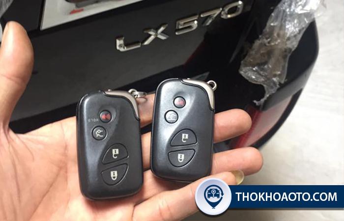 Làm chìa khóa xe Lexus - Thợ Khóa Ô Tô