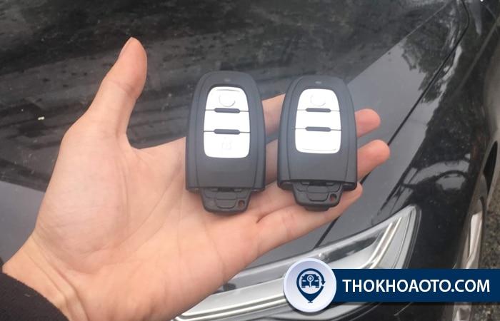 Làm chìa khóa xe Audi