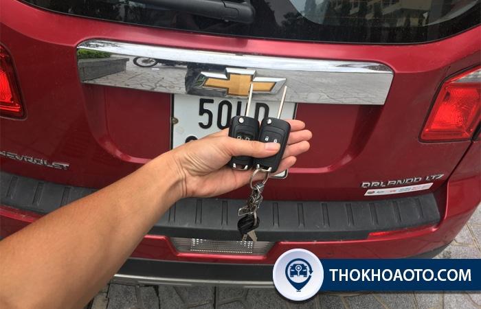 Làm chìa khóa xe Chevrolet - Thợ Khóa Ô Tô