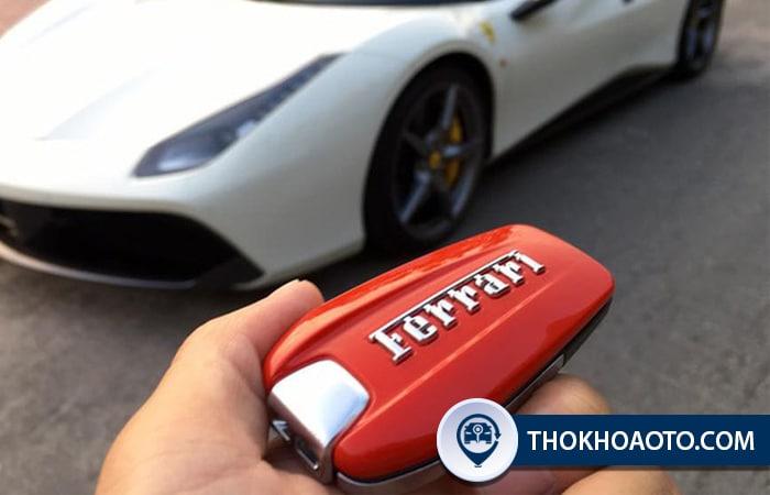 Làm chìa khóa xe Ferrari - Thợ Khóa Ô Tô