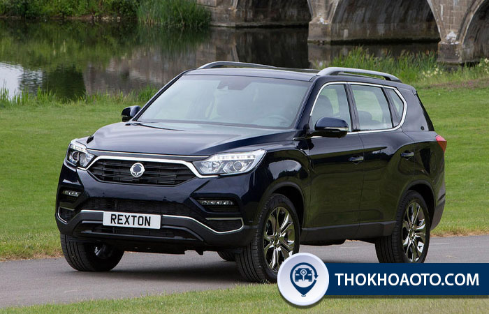 Xe Ssangyoung Rexton 2.2D Ultimate