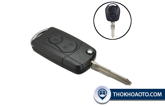 Chìa khóa cơ, remote xe Ssangyoung