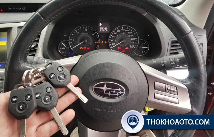 Làm chìa khóa remote xe Subaru