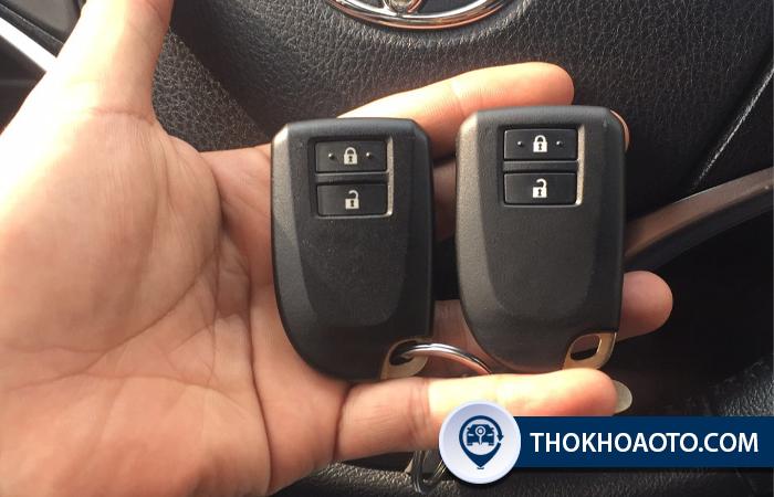 Dịch vụ làm chìa khóa Toyota chính hãng tận nơi