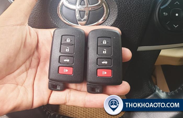 Lầm chìa khóa xe Toyota - Thợ Khóa Ô Tô