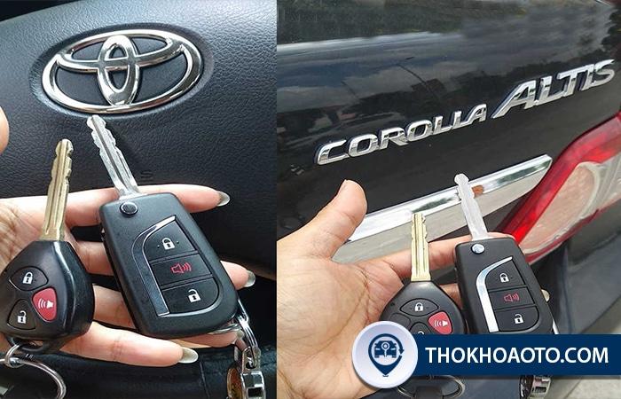 Chìa khóa remote xe hơi