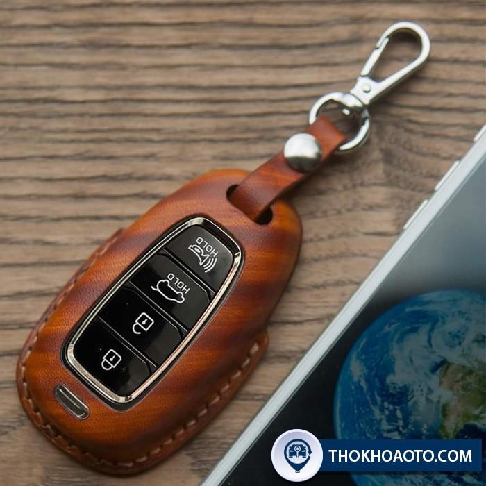Bao da chìa khóa Hyundai Accent