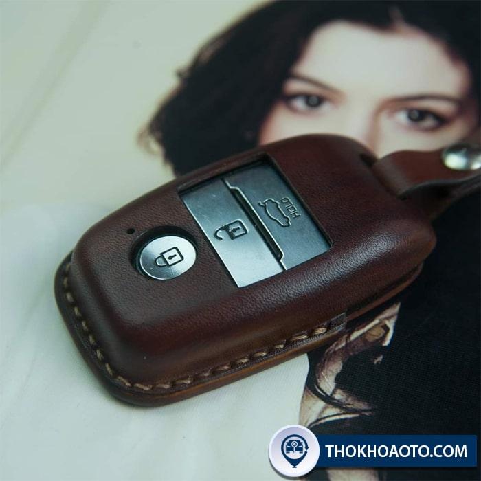 Ốp da chìa khóa Kia Cerato