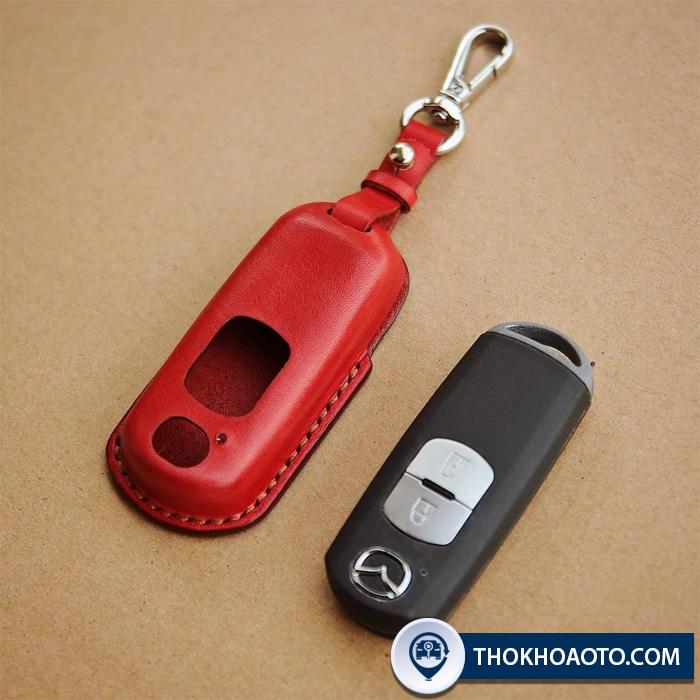 Bao da chìa khóa Mazda 2, 3, 6 hatback, Mazda CX5