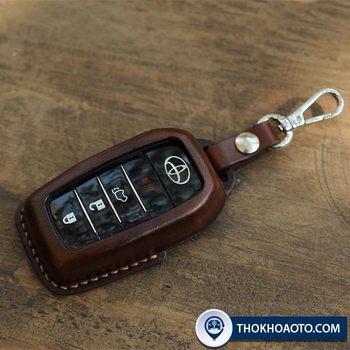 Bao da chìa khóa thông minh Toyota