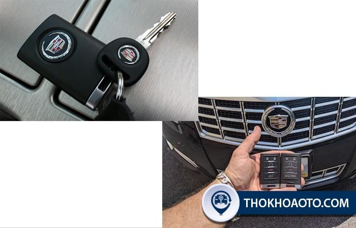làm chìa khóa xe Cadillac tại Thợ Khóa Ô Tô