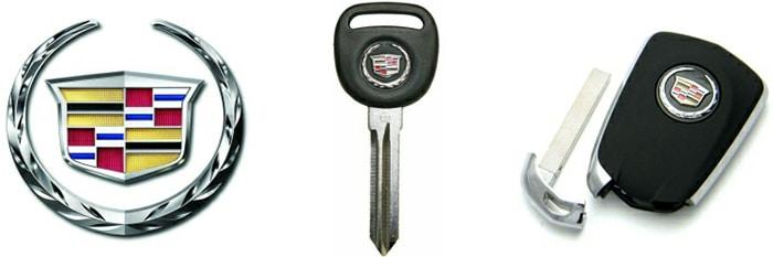 chìa khóa cadillac