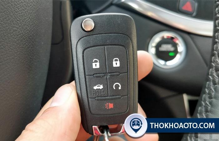 Chìa khóa remote Chevrolet