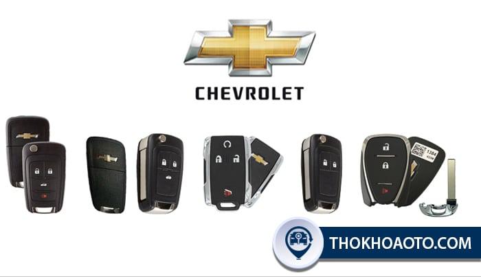 Các loại chìa khóa Chevrolet