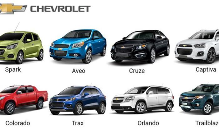 Các dòng xe Chevrolet trên thị trường Việt Nam